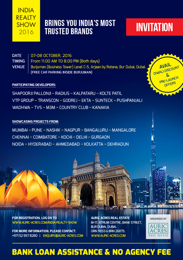 India Realty Show Dubai